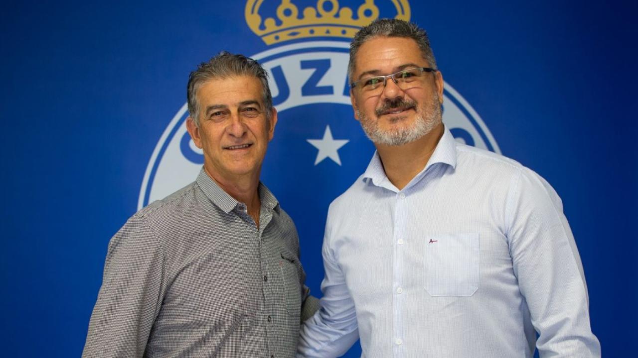 treinador Rogério Micale