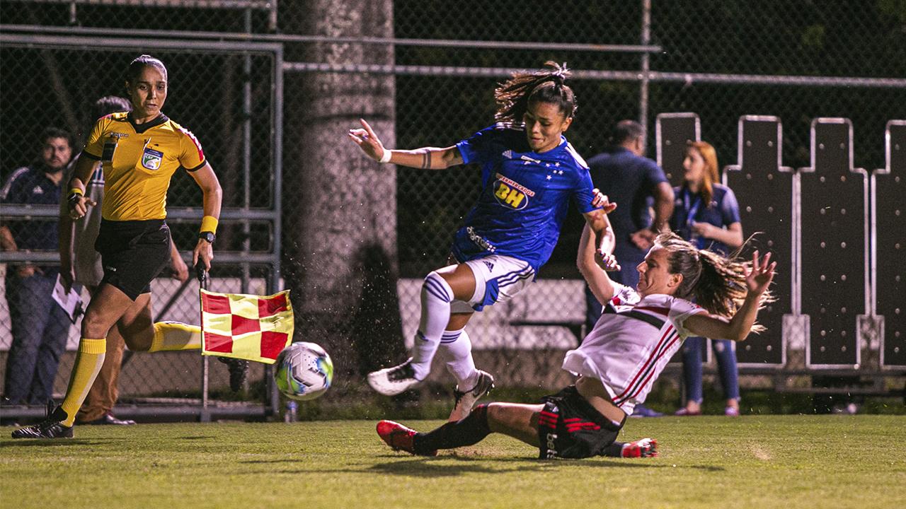 vitória no Brasileiro Feminino A1