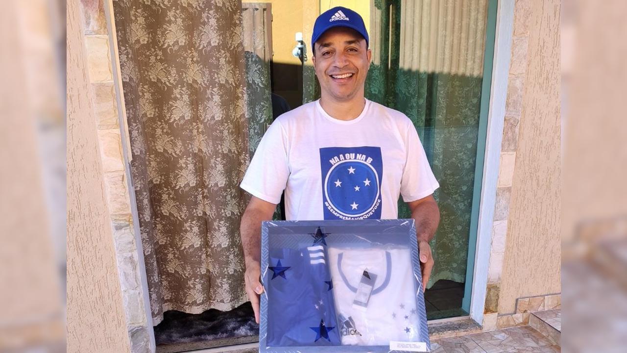 Cruzeiro presenteou torcedor