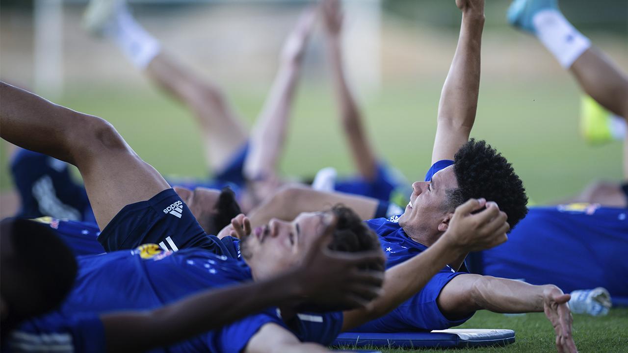 Marquinhos Gabriel já treinou com a equipe nesta segunda-feira