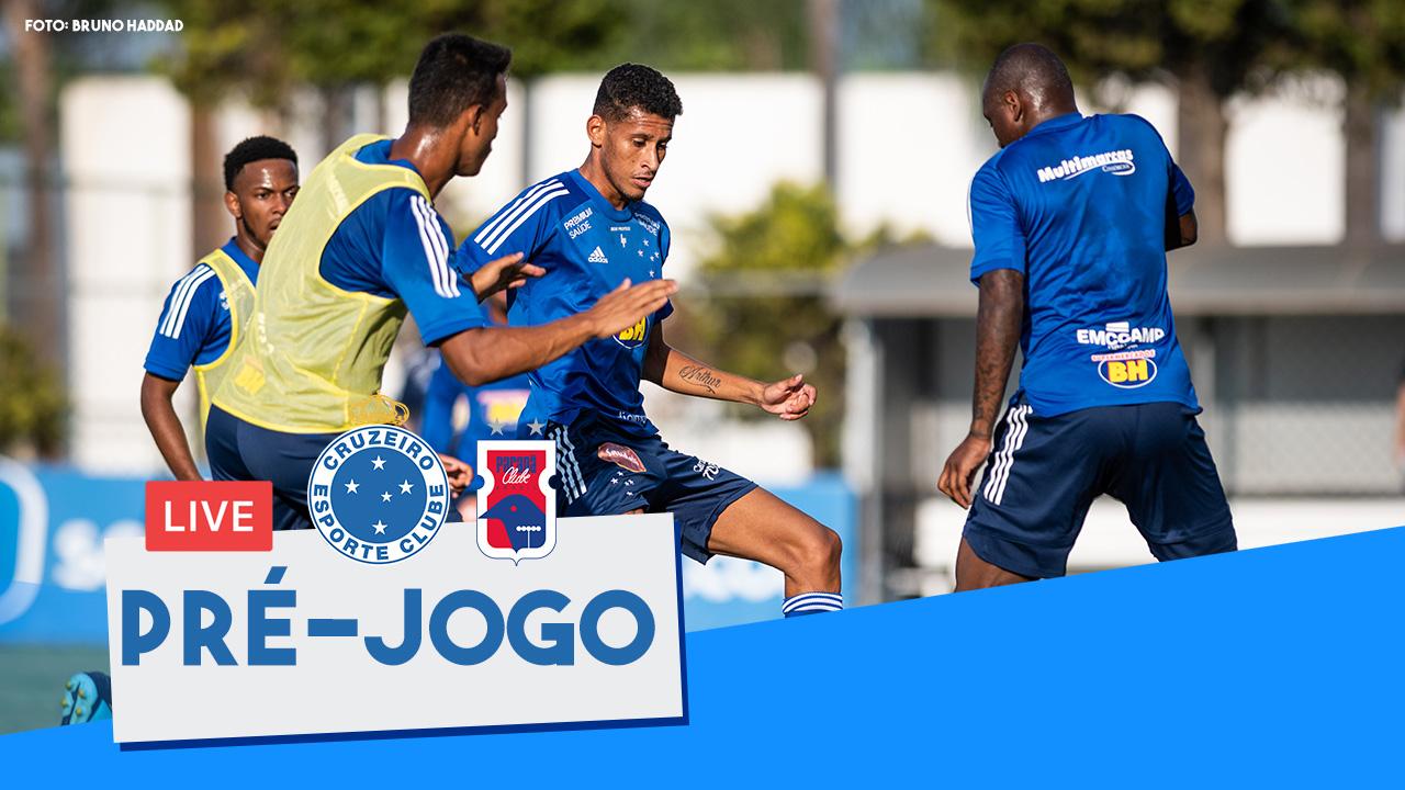 Live de Pré-Jogo - Cruzeiro x Paraná