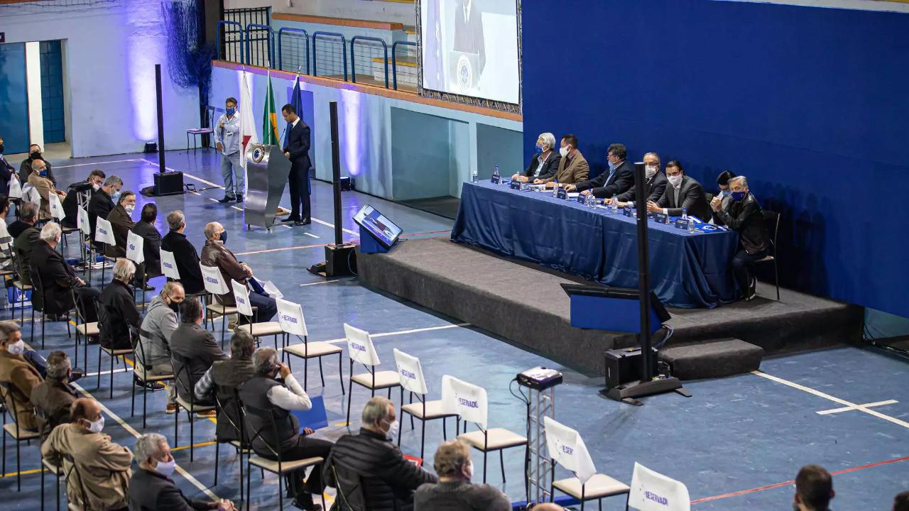 Assembleia Geral para votação