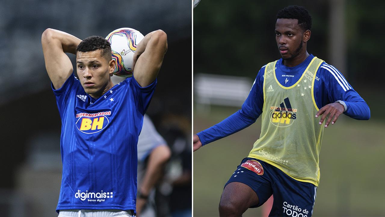 Matheus Pereira e Rafael Luiz estão de volta