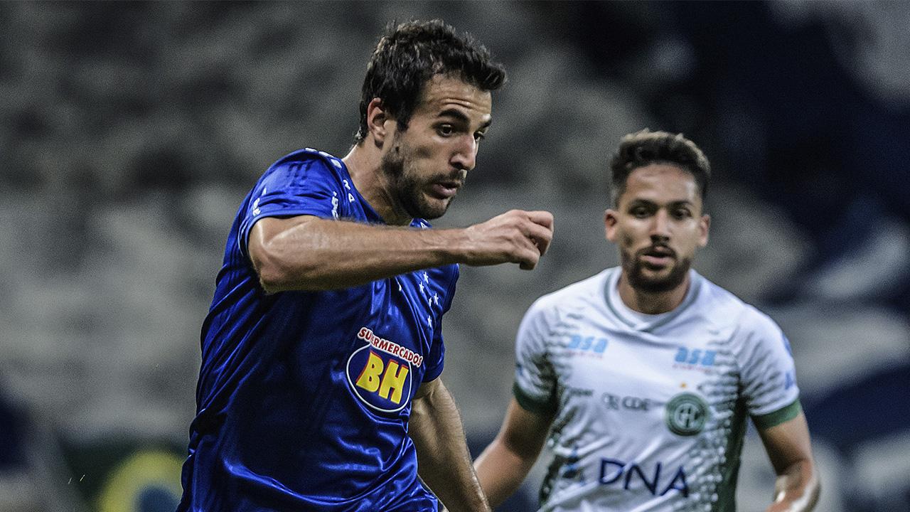 Raúl Cácares lateral Cruzeiro