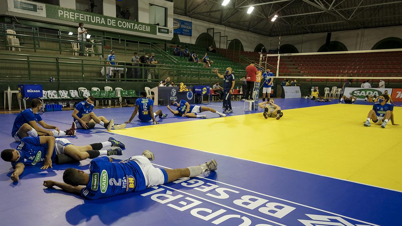 Sada Cruzeiro enfrenta o Vôlei Renata