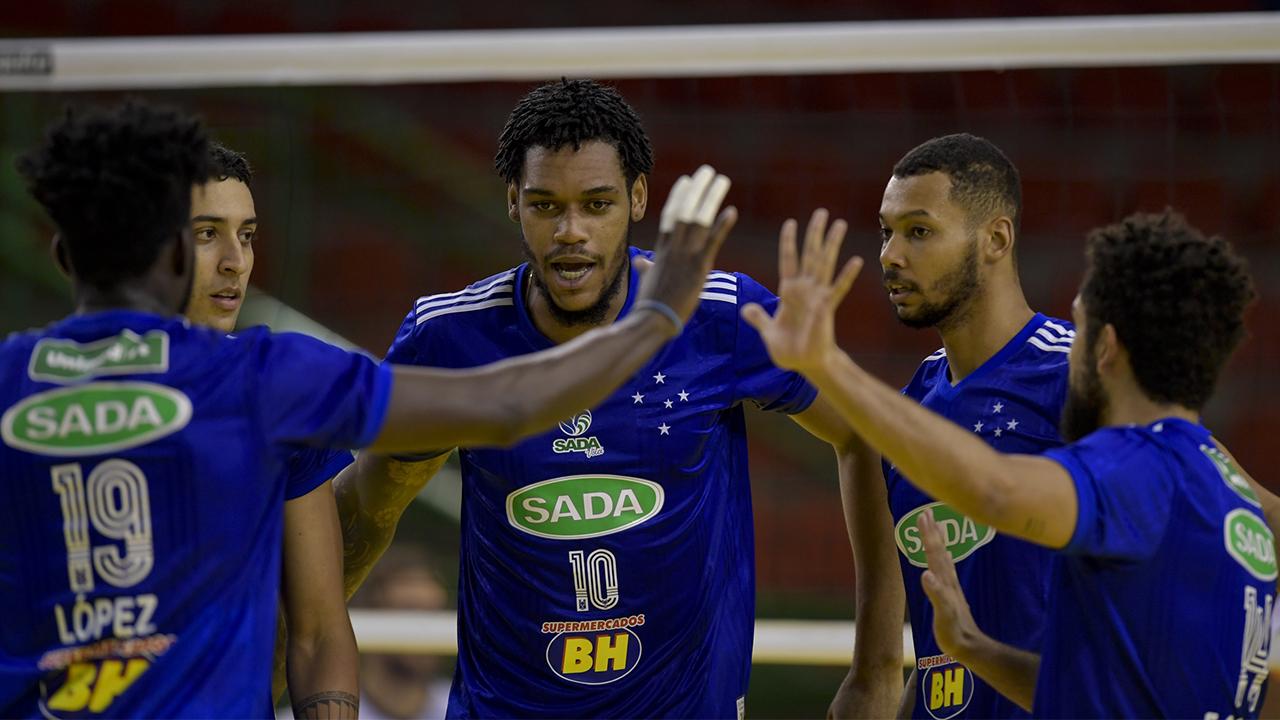 Sada Cruzeiro bate o Montes Claros América Vôlei