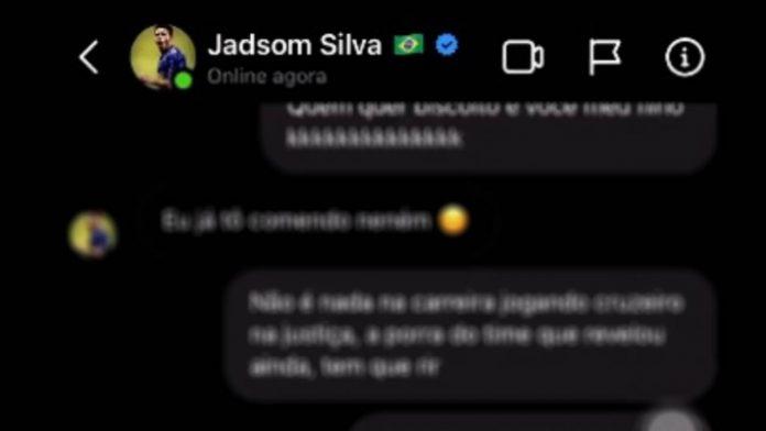 áudio ofensivo do Jadsom