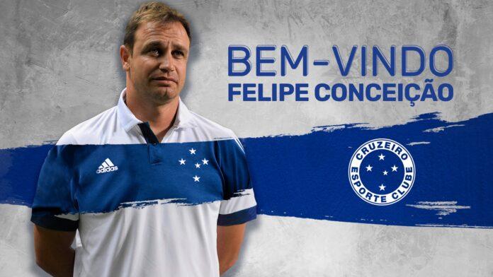 Felipe Conceição é anunciado oficialmente