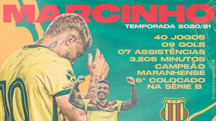 Marcinho se despede do Sampaio Corrêa